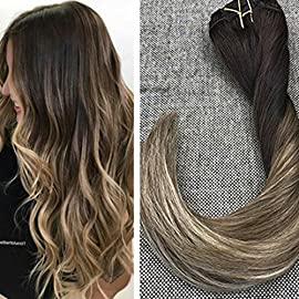 Ugeat 14-24 inches Body Wave I Tip 100% Real Human Hair Extensions 0.8g/Strand 50Strands Keratin Stick I Tip Natural Wavy Hair Extensions