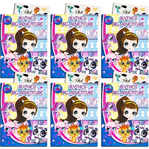 Littlest Pet Shop Birthday Party (Littlest Pet Shop Party Favors Pack -- Bundle Includes 6 Activity Books with Stickers (Littlest Pet Shop Party)