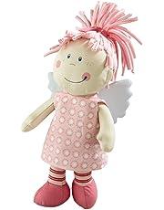 Haba 3951 - Schutzengel Tine, weiche Stoffpuppe für Kinder von 0-5 Jahren zum Spielen und Kuscheln, Prima Geschenk zur Geburt, Taufe oder dem 1. Geburtstag