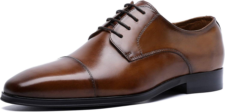 TALLA 40.5 EU. Desai Zapatos de Cordones Derby para Hombre