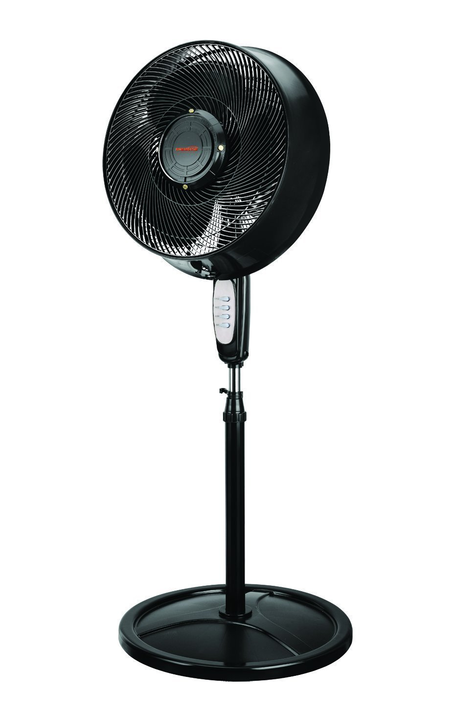 Remington 16'' Oscillating Outdoor Misting Fan with 4 Nozzles for Cooling Patios, Pool Sides, Gardens, Worksites and Decks