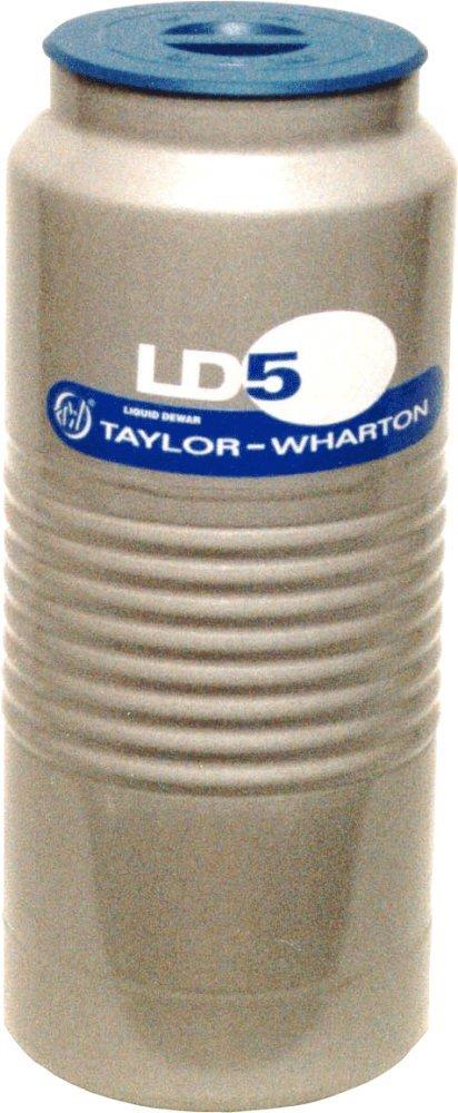 Taylor Wharton LD5 Aluminum Liquid Dewar, 1.32 gal