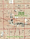 2020 Weekly Planner: Elmwood Park, Chicago, Illinois (1953): Vintage Topo Map Cover