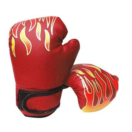 GCDN Guantes de Boxeo Sparring Accesorio Deportivo para niños Lucha Ajustable Muay Thai Niños Entrenamiento Punzonado Kickboxing Duradero Ergonómico ...