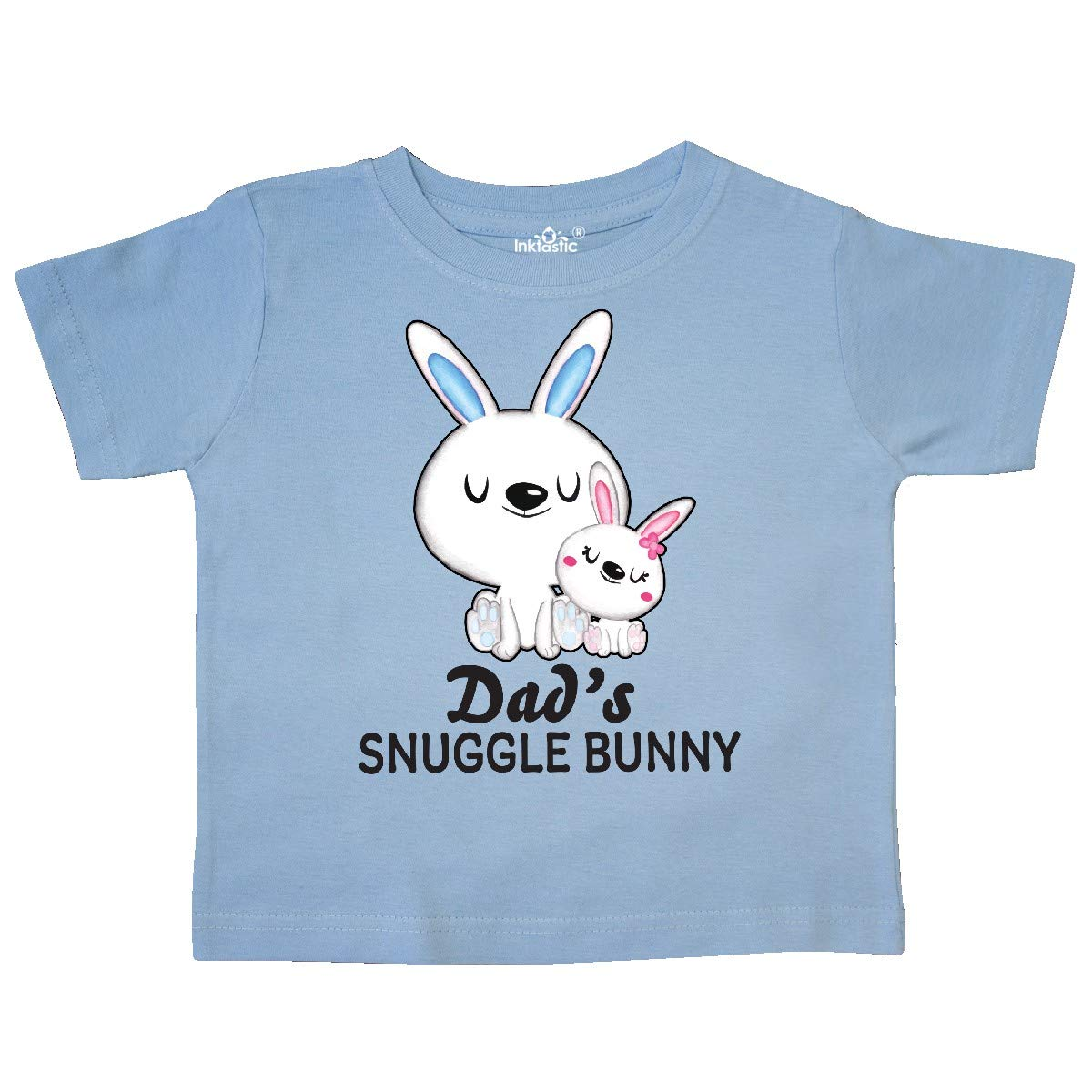 inktastic Dads Snuggle Bunny Easter Toddler T-Shirt