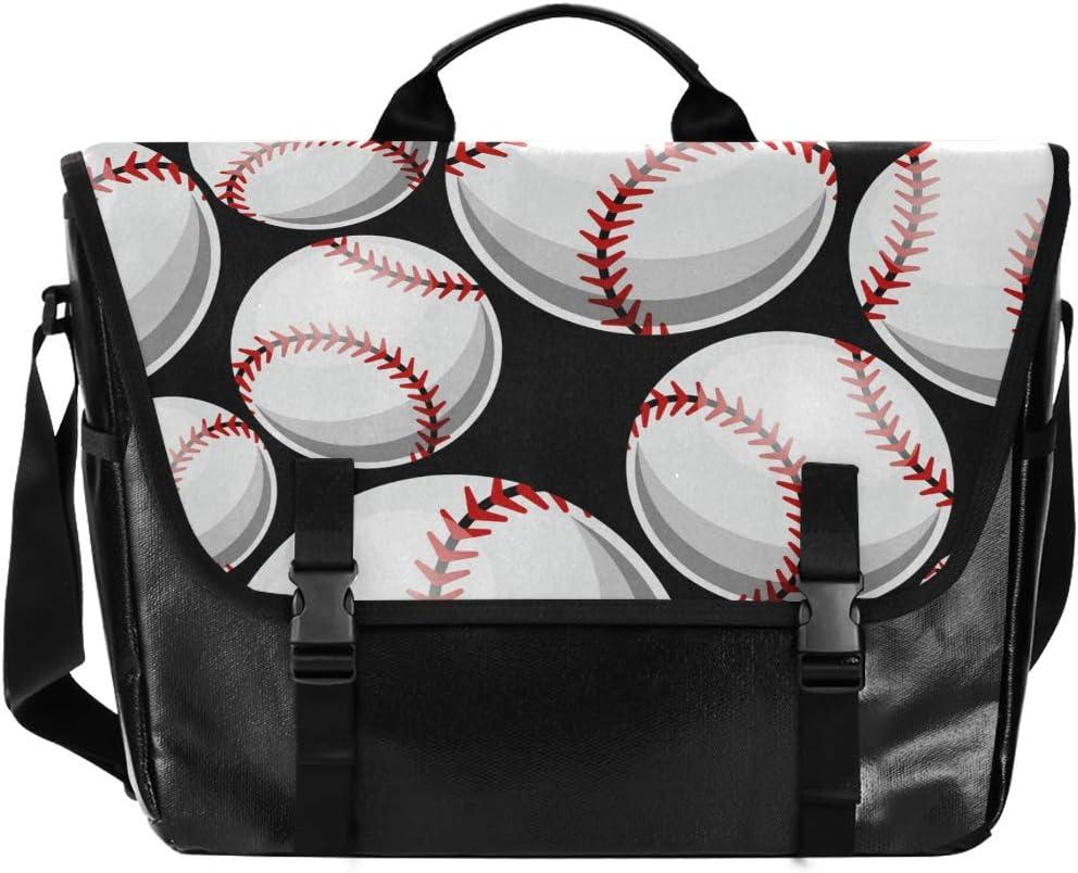 Baseball in Mitt Cross Body Shoulder Messenger Laptop Bag