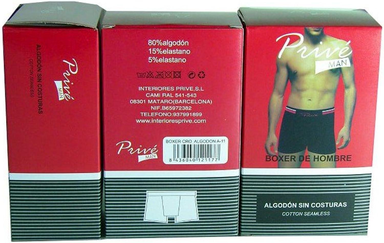 Pack 6 Boxers sin Costuras algodón Hombre: Amazon.es: Ropa y accesorios