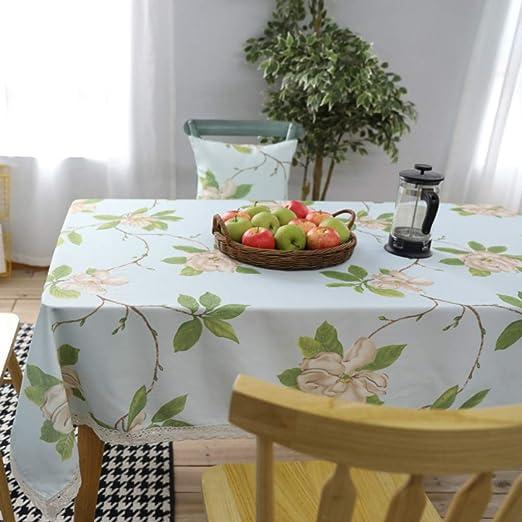 GZ-tablecloth Mantel Americano Resistente al Agua - Mesa de Centro ...