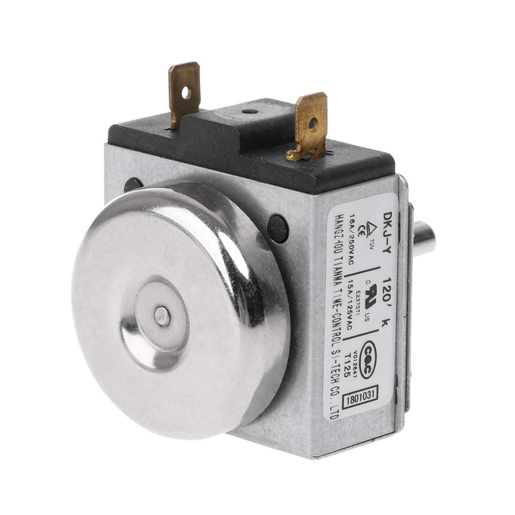 BIlinli DKJ-Y 120 Minuten 15A Verz/ögerungszeitschalter f/ür elektronischen Mikrowellenherd