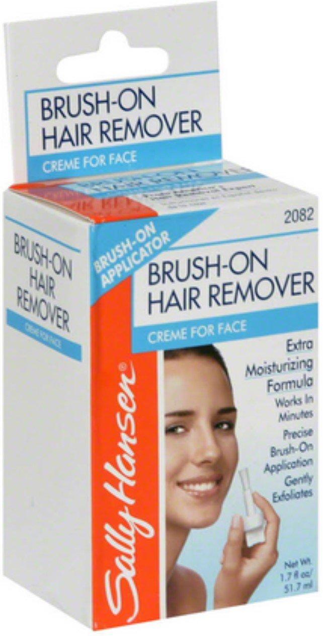 Sally Hansen Brush-On Hair Remover Creme for Face 1.7 oz (Pack of 12)