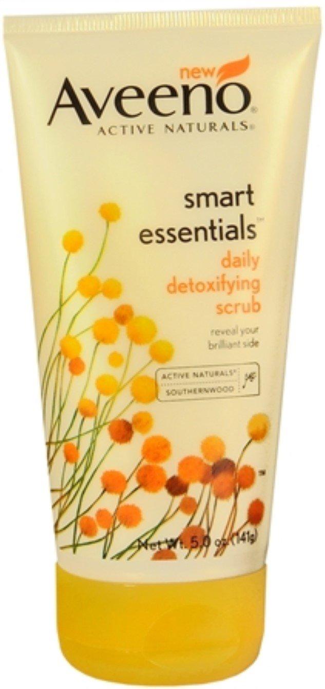 Aveeno Smart Essentials Daily Detoxifying Scrub, 5 oz