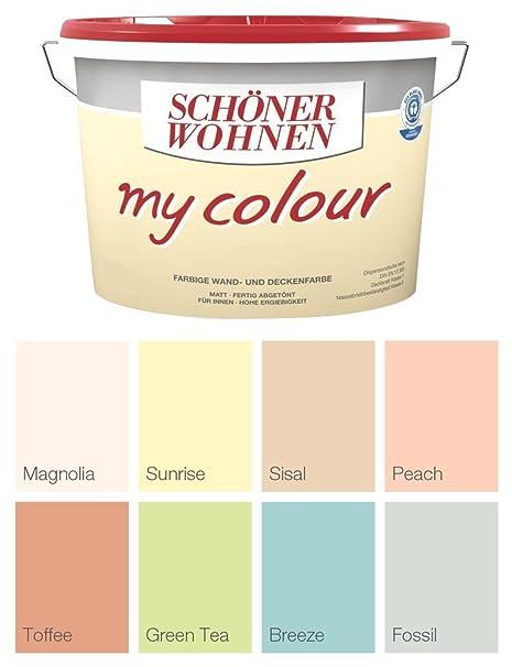 Schöner Wohnen Wandfarbe My Colour 5 Liter, Zarte Farben ...