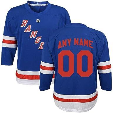 info for d8f3c 6640e Amazon.com: Custom New York Rangers Youth Hockey Jersey ...