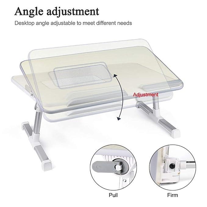 CSSD Adjustable Mobile Laptop Computer Desk,Turnlift Portable Mobile Laptop Desk Ship from US Foldable Computer Desk
