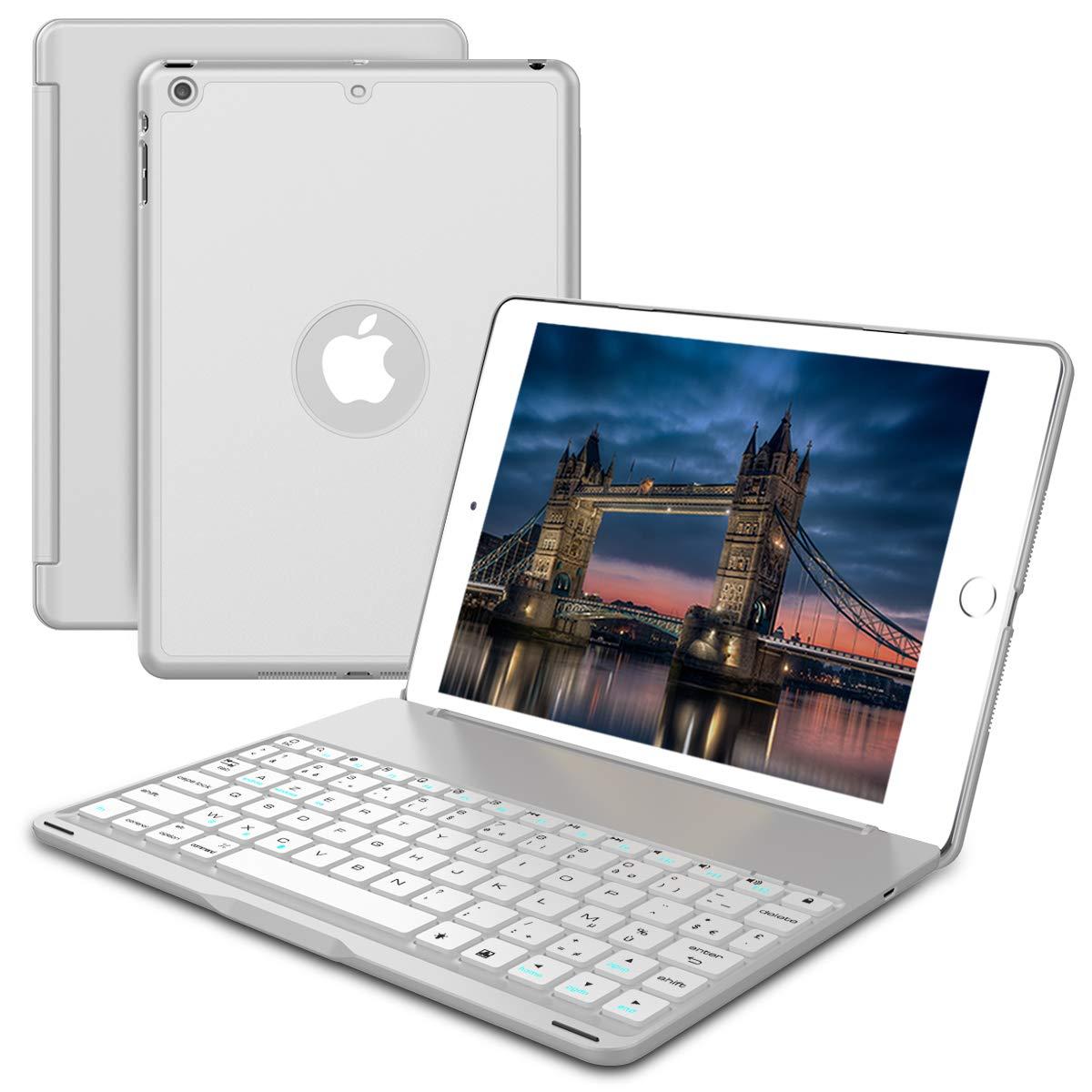 【期間限定】 2018 New 保護,MeetJP iPad 保護,MeetJP B07L3VGL2N スクラッチ耐性 2018 柔らかい シェル, 保護 ケース シェル シェル Silver B07L3VGL2N, コンビスタイルオンライン:fac1f836 --- a0267596.xsph.ru