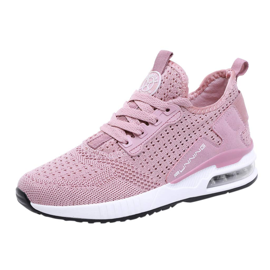 JJLIKER Men Women Running Shoes Sports Trainers Shock Absorbing Sneakers for Walking Gym Jogging Fitness Athletic Casual by JJLIKER-Men shoes
