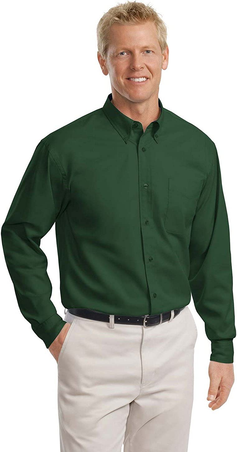 Port Authority Mens Tall Long Sleeve Easy Care Shirt