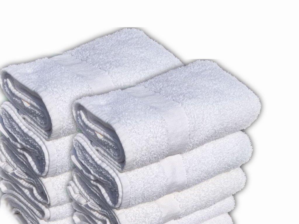 60 Pcs (5 Dozen) white Bath Towel (24''x 48'') Ringspun Cotton for Maximum Softness Easy Care-Home,spa,resort,hotels/Motels,gym use (60)