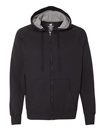 0ea06989c Amazon.com: Hanes Men Nano Premium Lightweight Full Zip Hoodie: Clothing