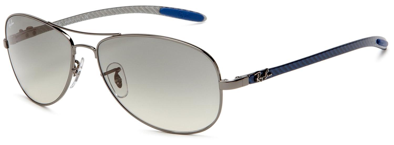 Ray-Ban Gafas de Sol MOD. 8301 SOLE004/32 Gris: Amazon.es ...