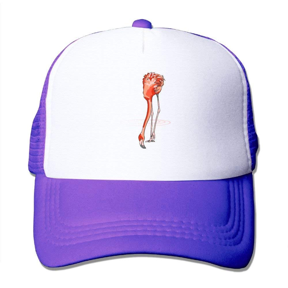43da874035e Quick Dry Lawn Flamingo Comfortable Mesh Baseball Caps Breathable ...
