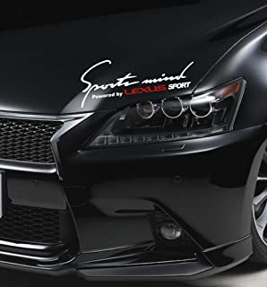 Amazoncom Lexus Logo Stickers Decal Set Of  Decals High - Lexus custom vinyl decals for car