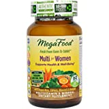 MegaFood - Multi for Women, A Balanced Real Food Multivitamin, 60 Tablets