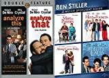 Ben, Bobby & Billy: Analyze This/ Analyze That + Stiller Meet the Parents / Fockers / Fockers / Along Came Polly / Reality Bites Spotlight 6 Movie DVD Bundle Film Favorites