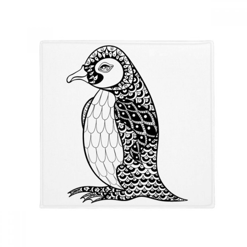 DIYthinker Penguin Human Paint Quiet Baby Anti-Slip Floor Pet Mat Square Home Kitchen Door 80Cm Gift
