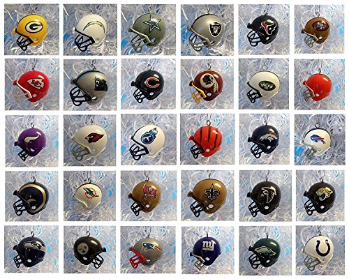 32 Team Complete League Set of Football Christmas Ornaments - Around 2