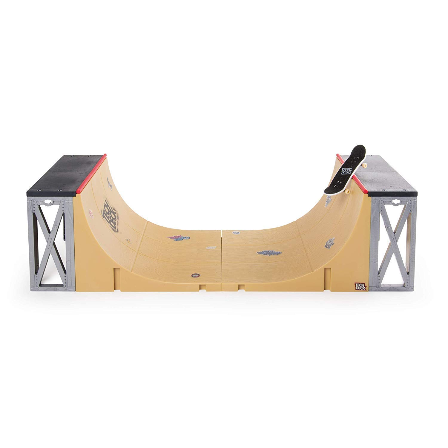 Tech Deck - Ultimate Half-Pipe Ramp and Exclusive Primitive Pro Model Finger Board, for Ages 6 and Up by Tech Deck (Image #1)