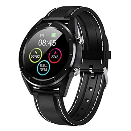 OOOUSE Smartwatch with All-Day ECG Heart Rate/Sleep/Fitness Tracking Wristband Smart Watch, Durable & Compatible with iOS and Android, IP68 Waterproof ...