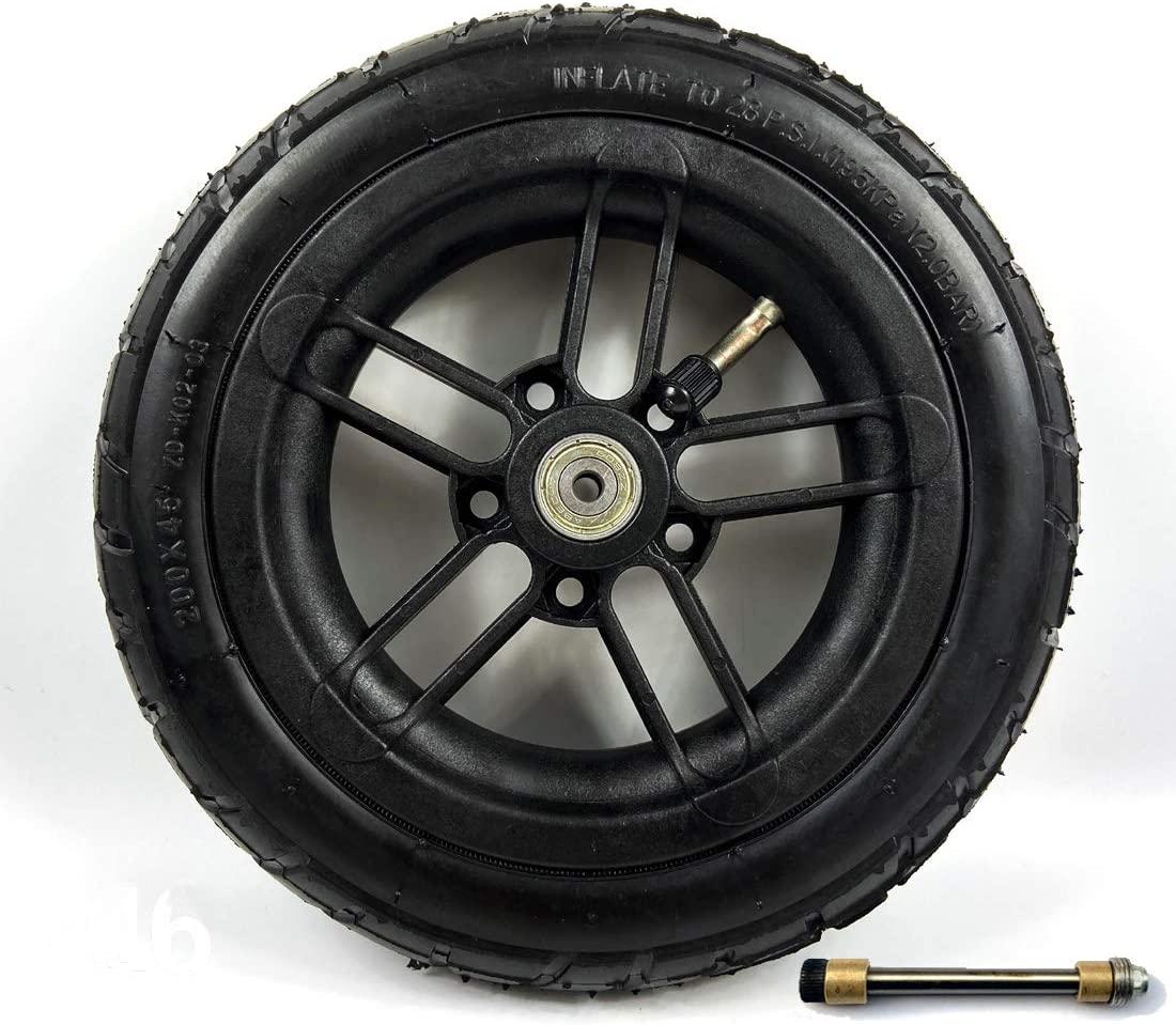 L-faster 200x35 neumático Uso de neumáticos Nylon Hub Fit M8 o M6 Eje 8