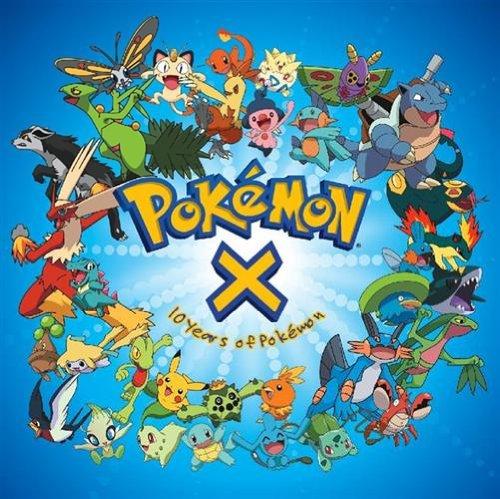 Price comparison product image Pokemon X: Ten Years of Pokemon