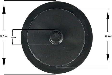 Wamster Autogas Deckel Tankdeckel Stopfen Tomasetto Dish M10 Schwarz Auto