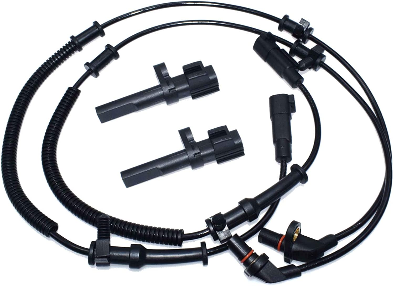 4 ABS Wheel Speed Sensor Front Rear L /& R 68060333AA 56028668AE NEW FOR Ram 1500 Dodge Ram 1500 2009-2012