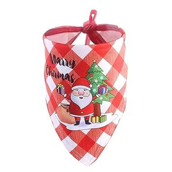 Pañuelo para Perros Navidad Traje para Mascotas Elegante ...