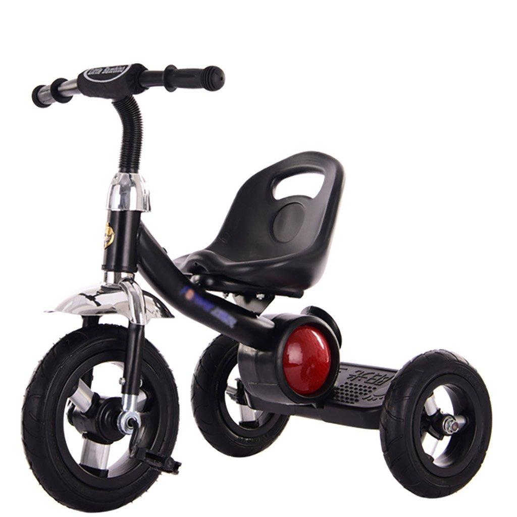 子供用トライク、三輪車の乗り物バイク、赤ちゃんの滑り自転車、おもちゃの自転車、自転車の子供、フットペダルの3つの車輪 (色 : A) B07DVS5GF3A