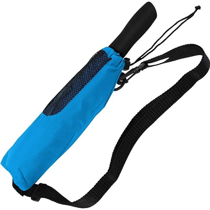 Doppler - Paraguas de bolsillo para golf y senderismo, talla XXL, azul