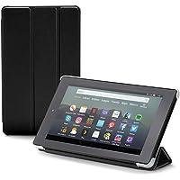 NuPro Funda con soporte y tres posiciones de pliegue para el tablet Fire 7, color negro