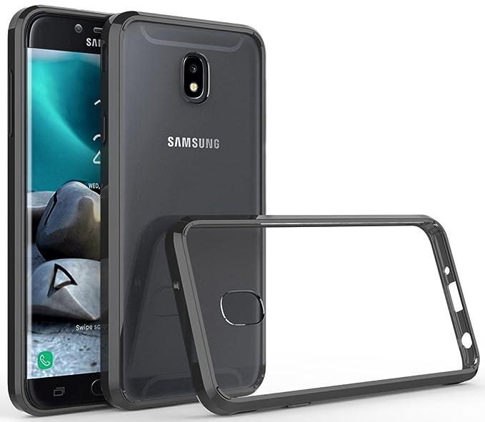 Galaxy J7 Refine Case,Galaxy J7 2018,J7 Star,J7 Aura,J7 Top,J7 Crown,J7  Aero,J7 Eon Case,Yiakeng Soft Lightweight Wallet Slim Crystal Protection  Phone