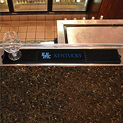 Fanmats Home Restaurant Bar Hotel Decorative Accessories Logo Printed University Of Kentucky Drink Mat 3.25X24
