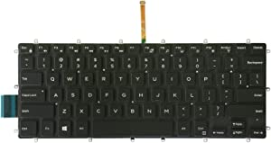 AUTENS Replacement US Keyboard for Dell Inspiron 5368 5378 5370 5379 5568 5578 5579 7368 7370 7373 7375 7378 7460 7466 7467 7560 7569 7570 7572 7573 7579 Laptop No Frame (Backlight)