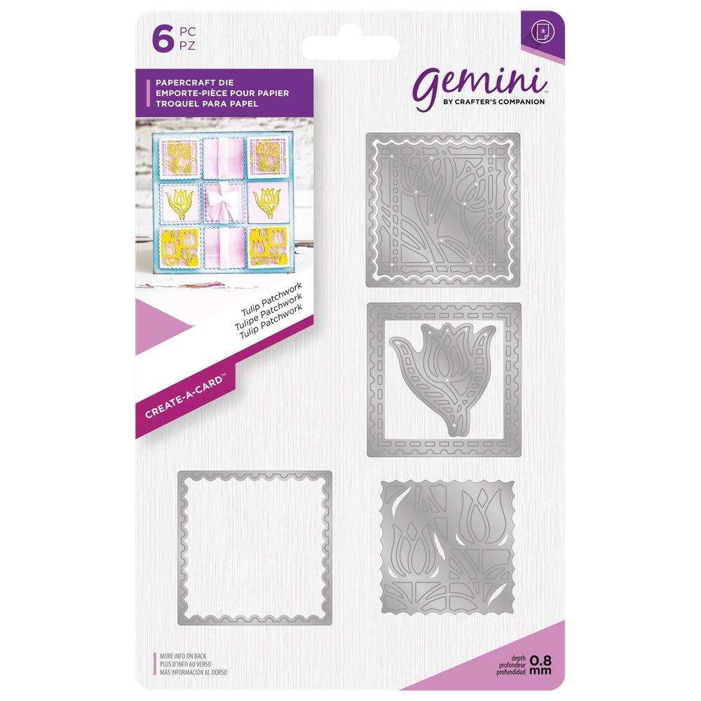 Gemini Create a Card Craft Metal Metal Metal Papercraft Patchwork Die Set - Tulip B07HB2KN7F | Fein Verarbeitet  1bc051