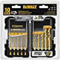 DEWALT DD5160 Impact Ready 10 Piece Titanium Drill Bit Set