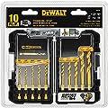 DEWALT DD5160 Impact Ready 10 Piece Titanium Drill Bit Set
