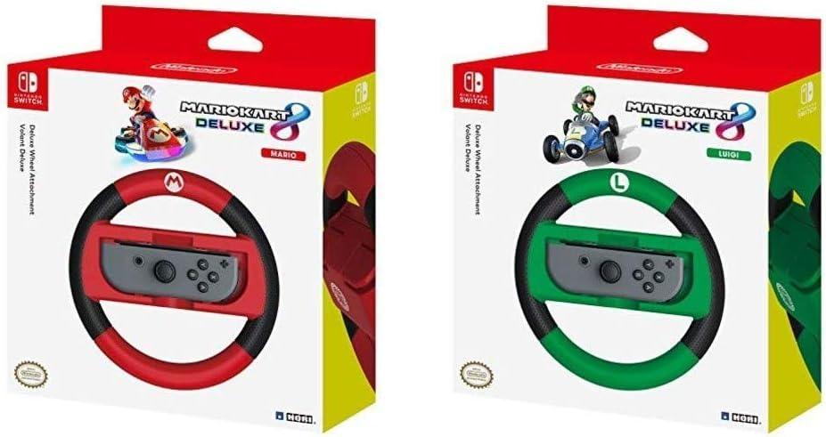 Hori - Volante Mario Kart 8 Deluxe (Nintendo Switch) & - Volante ...