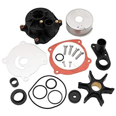 KIPA Water Pump Repair Kit Replacement with Housing for Johnson Evinrude V4 V6 V8 85-300HP Outboard Motor Parts 5001594 5001595 Sierra Marine 18-3392 390768 391637 392750 393082 395060 395062 435447: Sports & Outdoors