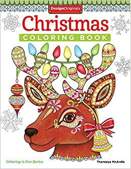 Amazon Christmas Coloring Book Is Fun Design Originals 30 Playful Holiday Art Activities From Thaneeya McArdle On High Quality