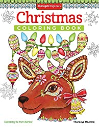 Christmas Coloring Book (Coloring is Fun) (Design Originals) 30 Fun & Playful Holiday Art Activities from Thaneeya McArdle on High-Quality, Extra-Thick Perforated Pages that Resist Bleed-Through